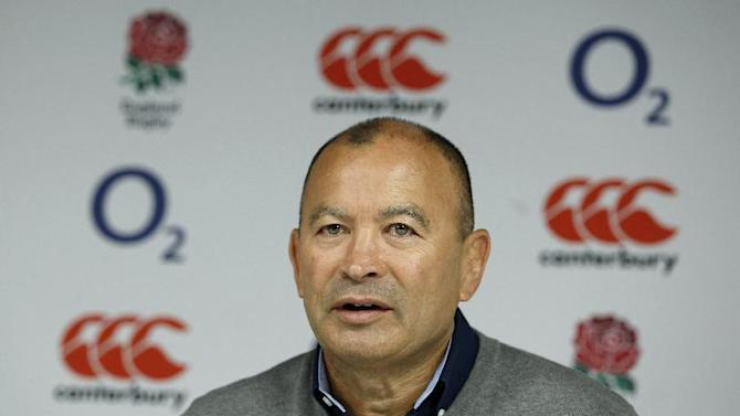 England head coach Eddie Jones during the squad announcement