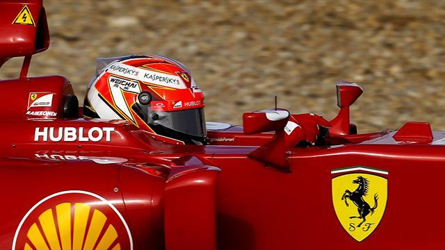 Formula 1 - Raikkonen happy after positive day's practice