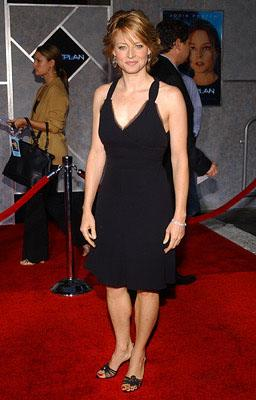 Jodie Foster at the LA premiere of Touchstone's Flightplan