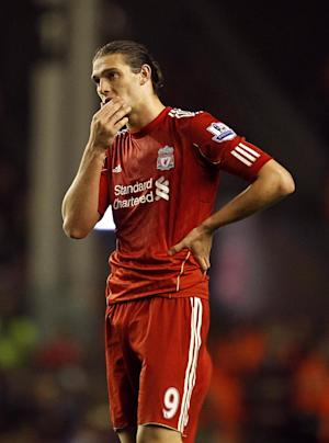 Liverpool's Andy Carroll struggled to find his best form last season