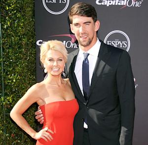 Michael Phelps Poses With New Girlfriend Win McMurry at the ESPY Awards