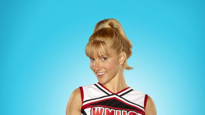 "Heather Morris returns as Brittany in season 2 of ""Glee."""