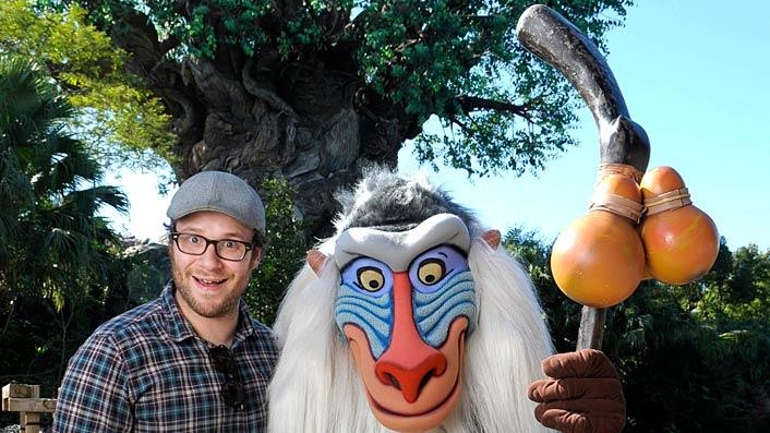 Seth Rogan Disney World