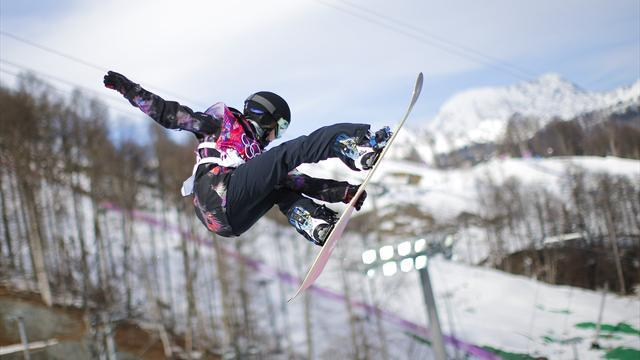 Snowboard - Kreischberg wins hand Pancochova and Hedberg slopestyle Crystal Globes