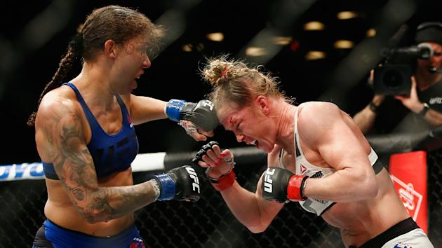 Attorneys for Holly Holm have requested for referee Todd Anderson's failure to deduct points from Germaine de Randamie to be reviewed.