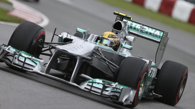 Formula 1 - Hamilton: Red Bull can be held at bay