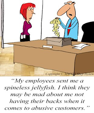 Firing the Customer image Firing customer cartoon
