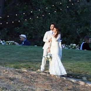Ian Somerhalder and Nikki Reed Are Married -- See The Pic!