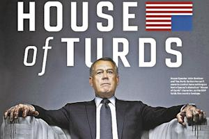 NY Daily News Blames Government Shutdown on a 'House of Turds' (Photo)