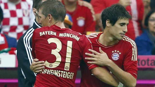 Resounding wins for Bayern, Hannover