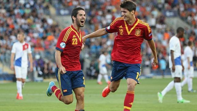 Euro U21 - Majestic Spain reach final once again