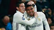 Practice paid off for the midfielder, who scored a stunning goal in Real Madrid's Champions League win over Napoli.