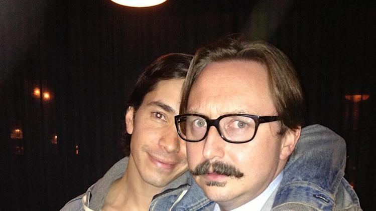 Justin Long and John Hodgman