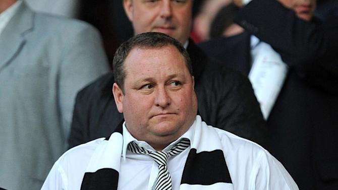 Newcastle manager Alan Pardew has heaped praise on Mike Ashley