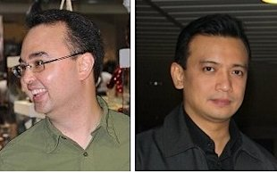 Alan and Sonny Trillanes