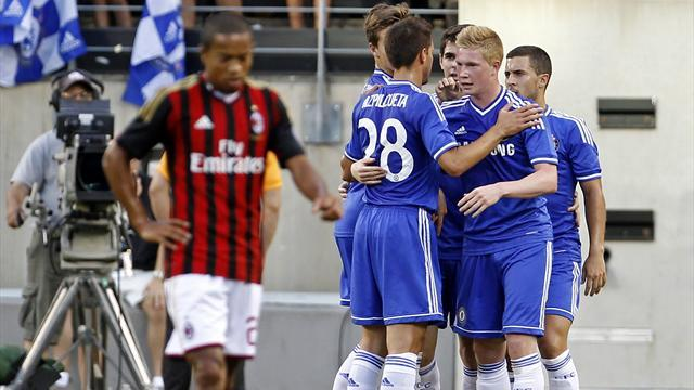 Serie A - Chelsea beat Milan to set up Madrid final