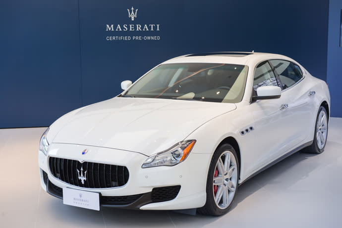 Maserati Taiwan原廠認證中古車服務啟動