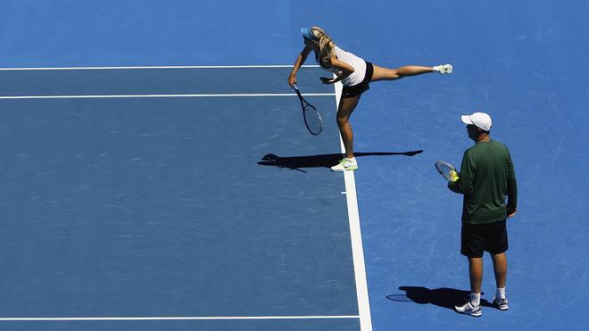 Maria Sharapova Of Russia Serves Getty Images