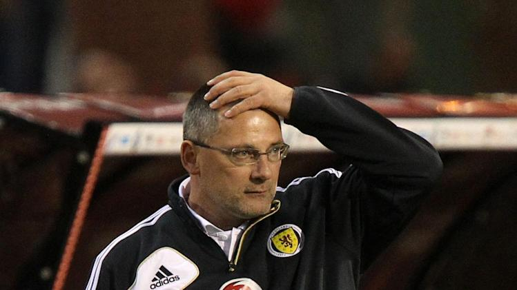 Craig Levein lost his job after a dismal start to Scotland's World Cup qualifying campaign
