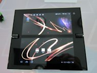 "Hands on: Sony Tablet P is a little bit ""niche"""