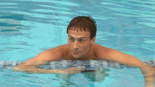 Ryan Lochte's Bro Ready to Swim