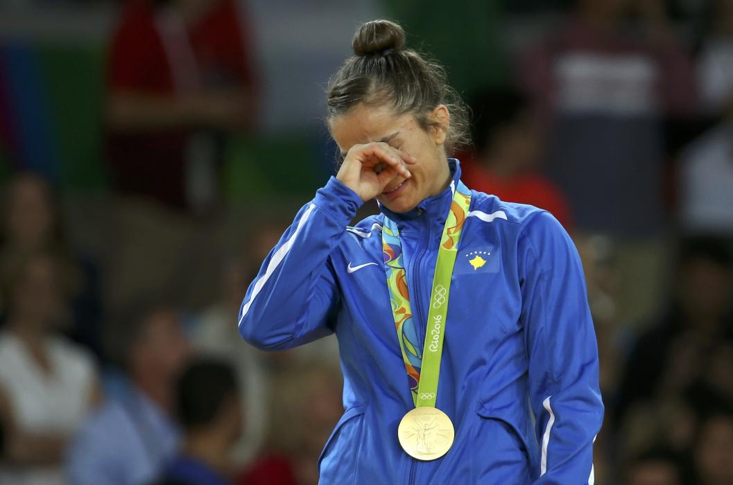 Rio 2016: Majlinda Kelmendi wins Kosovo's first ever gold medal