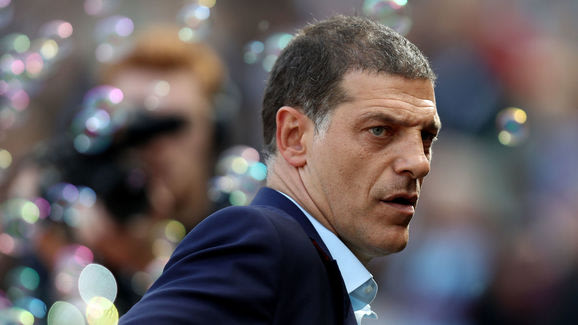 Slaven Bilic gets tough with players