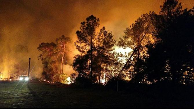 Forest fires continue to plague Florida
