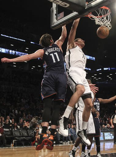 Nets sweep Bobcats, increase lead for 4th place