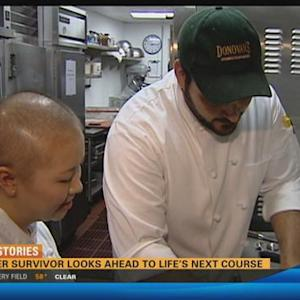 Cancer survivor looks ahead to life's next course