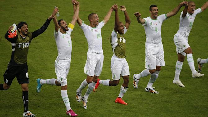 World Cup - Algeria upset South Korea in six-goal thriller