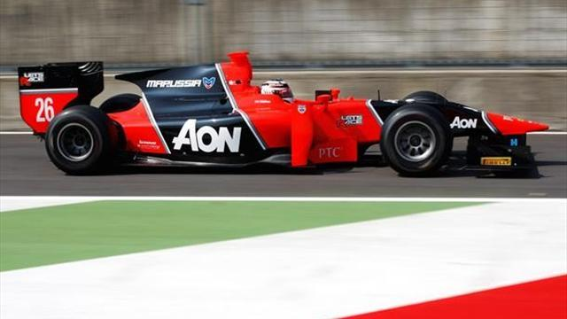 Chilton takes GP2 pole before spin