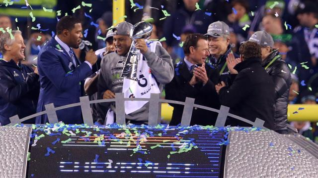 American Football - Seattle's Malcolm Smith named Super Bowl Most Valuable Player