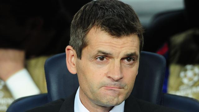Spanish Liga - Vilanova in dugout for Barcelona derby
