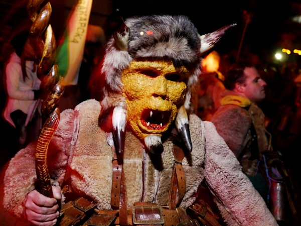 Surva festival where fantastical creatures ward off evil How to ward off bad spirits from your home