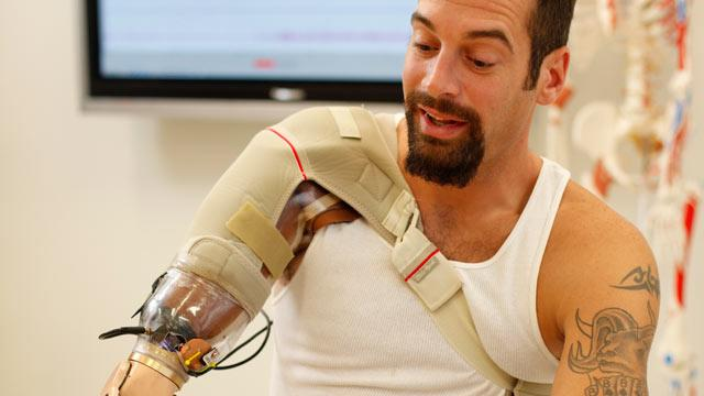 Bionic Arm Means One Less Battle for Wounded Warrior