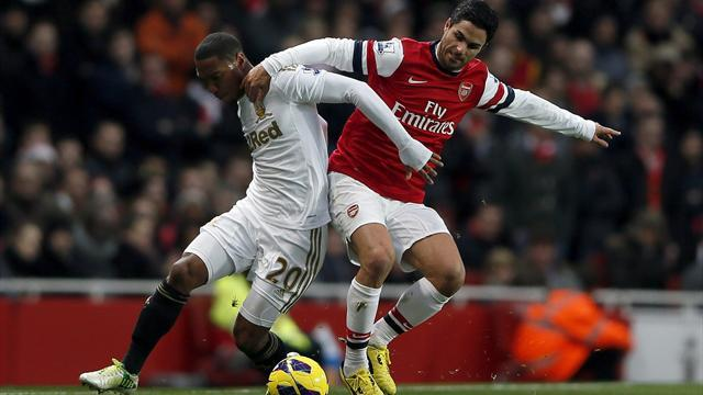 FA Cup - Wilshere strikes late as Arsenal see off Swansea