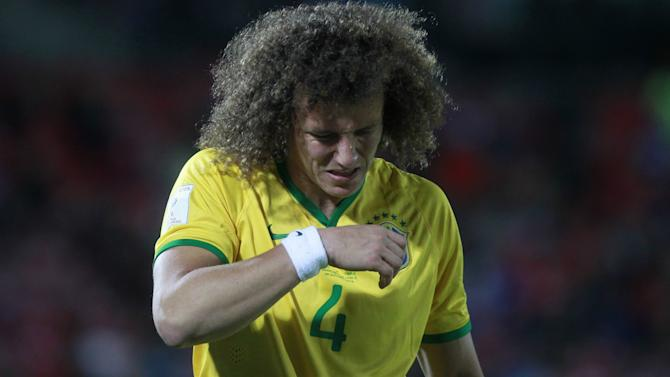Injured David Luiz leaves Brazil squad