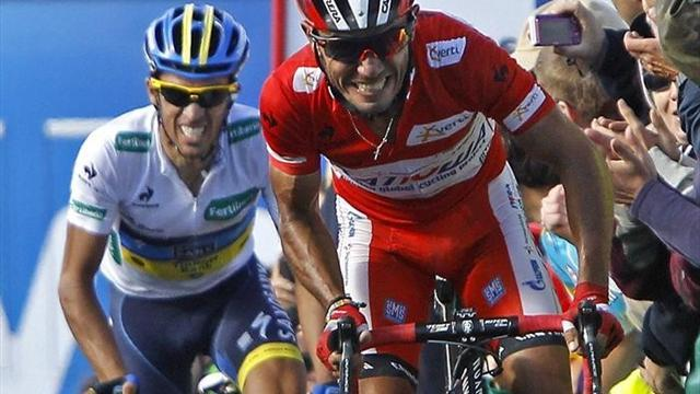 Vuelta a España - Cataldo wins stage 16 as Rodriguez extends lead