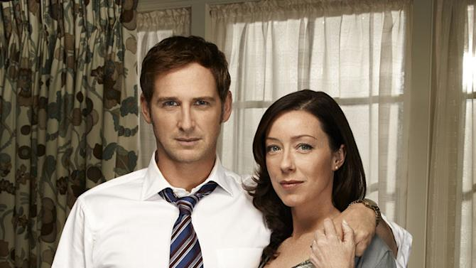 """Josh Lucas as Mitch McDeere and Molly Parker as Abby McDeere in """"The Firm."""""""