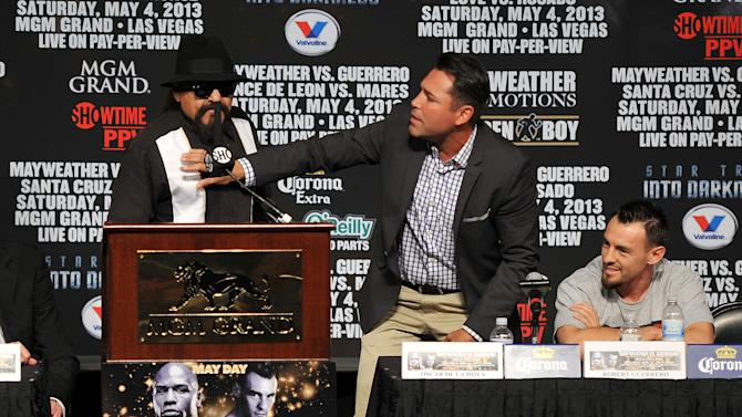 Floyd Mayweather Jr. v Robert Guerrero - News Conference