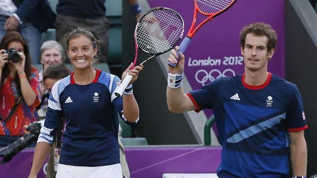 Murray and Robson Olympic doubles bid ends in silver