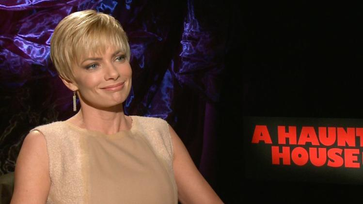 Jaime Pressly on 'A Haunted House 2' and her Emmy Injury