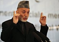"In an angry statement after the Kandahar shootings, Afghan President Hamid Karzai said that ""when Afghan people are killed deliberately by US forces, this action is murder and terror and an unforgivable action"""