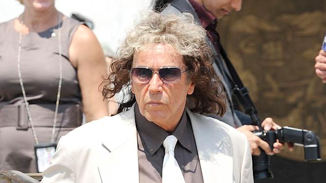 Al Pacino Phil Spector Movie Set