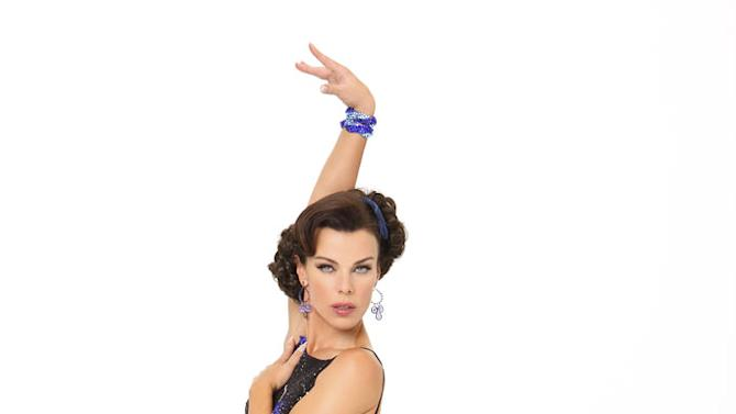 """Actress Debi Mazar competes in season 9 of """"Dancing with the Stars."""""""