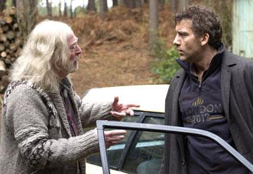 Michael Caine and Clive Owen in Universal Pictures' Children of Men