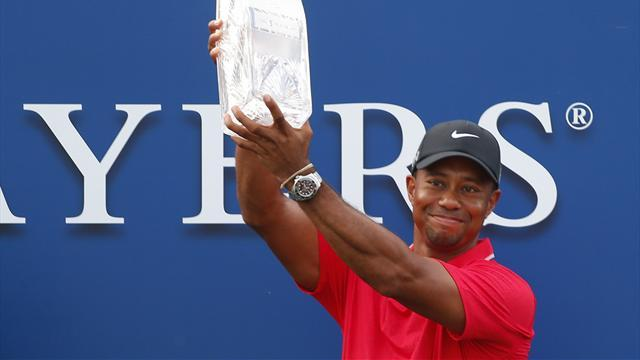 Golf - Woods wins Players Championship as Garcia implodes