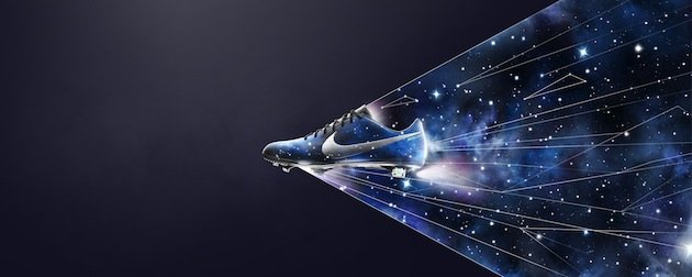 Cristiano ronaldo s new nike boots have stars on them for Outer space stage design