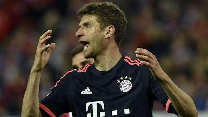 'Just let things be' - Muller fed up with debate over Bayern role